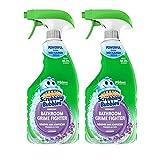 Scrubbing Bubbles Bathroom Grime Fighter, Lavender Scent, 32 oz Spray (2 Pack)