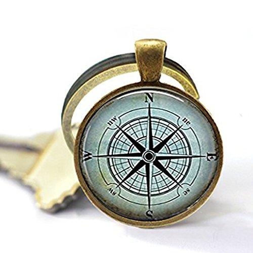 qws Nautischer Kompass Schlüssel...