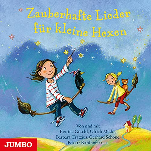 Zauberhafte Lieder für kleine Hexen Titelbild