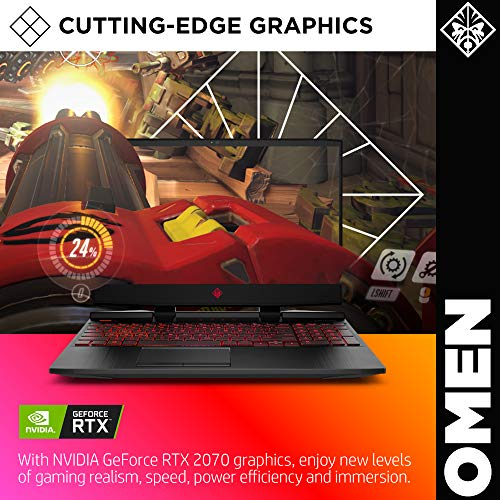 15-Inch HP Omen VR Ready Intel i7-9750H GeForce RTX 2070 Gaming Laptop