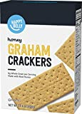 Amazon Brand - Happy Belly Honey Graham Crackers, 14.4 oz