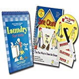 Zone Cleaning + Laundry Flipbook - Kids Chore Chart Bundle