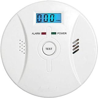 Co Alarm Detector Rook Koolmonoxide Alarm met Lcd scherm Voice Melding voor Thuis Fire Gas Lekken Precisie Instrument