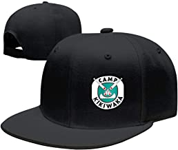 BFBJFG Camp Kikiwaka Baseball Snapback Hats Fashion Baseball Caps for Women Men Black