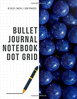Bullet Journal Notebook Dot Grid: Cheap Composition Journals Books College Ruled To Write In Letter Paper Size 8.5 X 11 Volume 78