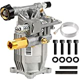 YAMATIC Max 3000 PSI Pressure Washer Pump Horizontal 3/4'' Shaft 2.4 GPM Power Washer Pump Replacement For Honda GC190, GC160, 309515003,308418007, G3050OHC, 020241 and More