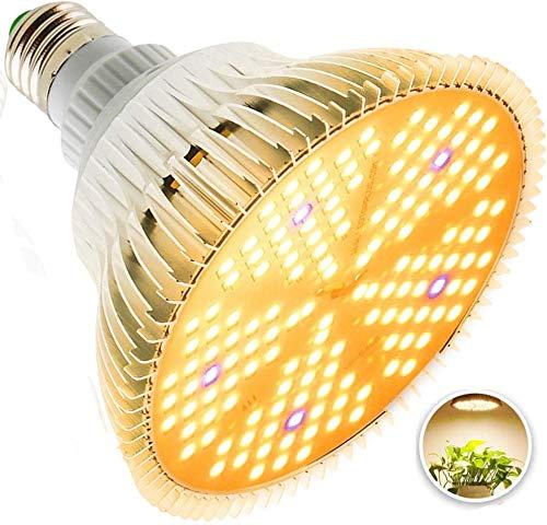 Esbaybulbs 100W相当 LED植物育成ライト 暖色系 太陽のような光 フルスペクトラム 150個LED プラントライト 植物育成用ランプ 水耕栽培ライト 室内用ライト 省エネ 長寿命 ガーデニング 家庭菜園 園芸用品