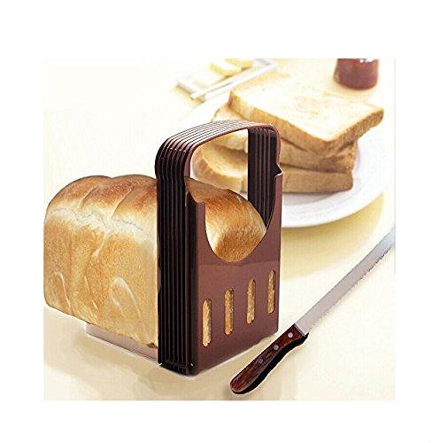 Upstudio Mini süßes Dekor Geschenk Faltbare Toast Brotschneidemaschine Schneiden Schneiden Leitfaden Backen Werkzeuge
