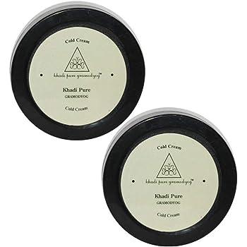 Khadi Pure Herbal Cold Cream, 50 g (Pack of 2)