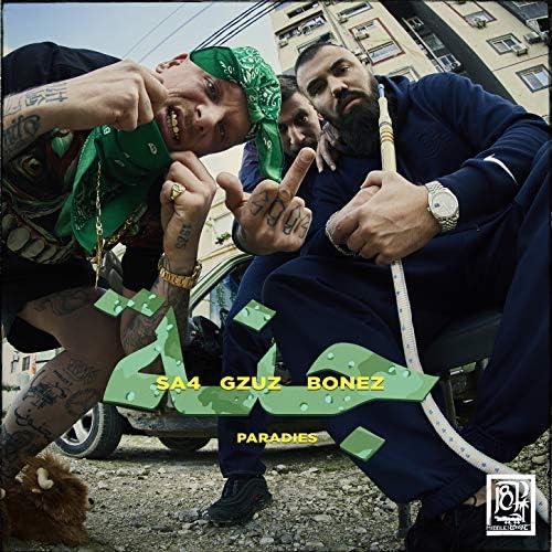 Bonez MC, Gzuz & Sa4 feat. 187 Strassenbande