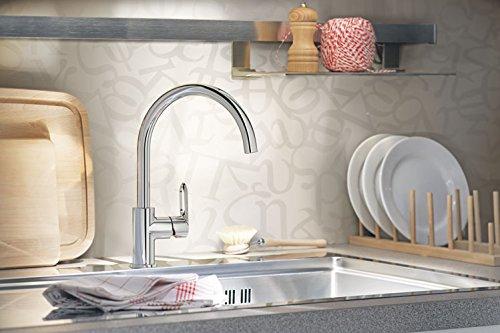 Grohe Start Loop Küchenarmatur, hoher Auslauf, Schwenkbereich 360°, (31374000) - 3