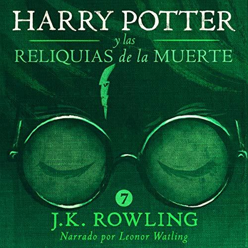 Diseño de la portada del título Harry Potter y las Reliquias de la Muerte