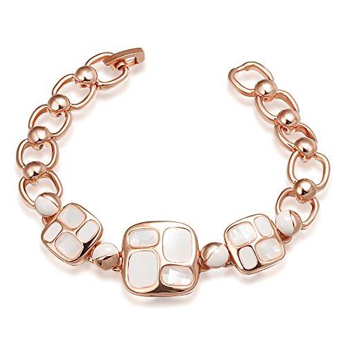 songpanna pulseras mujeres rosa chapado en oro Moda joyas para las mujeres regalo de San Valentín