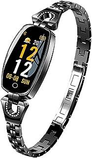 EElabper Reloj inteligente H8 resistente al agua, pulsera inteligente inteligente reloj de pulsera inteligente de frecuenc...