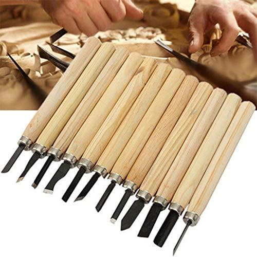 MXBIN 12st Holzschnitt Messer Scorper Holzschnitzerei Werkzeug Graver Skalpell DIY Pen Handwerkzeuge Holzbearbeitung Hobby Kunst Craft Nicking Cutter Hardware-Reparaturwerkzeuge