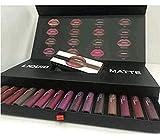 Zeuxs 16 Couleur à lèvres de kit 16 de couleur Mat NE Colle pas Tasse dans un...