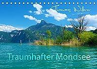 Traumhafter Mondsee (Tischkalender 2022 DIN A5 quer): Der traumhaft Mondsee im Salzkammergut bietet Ihnen eine spektakulaere Landschaft. (Monatskalender, 14 Seiten )