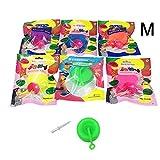 バブルバルーン インフレータブルボールグッズ2枚 透明バウンス おかしい おもちゃ ボール インフレータブルボール 屋外 屋内 庭遊び(ランダムカラー)