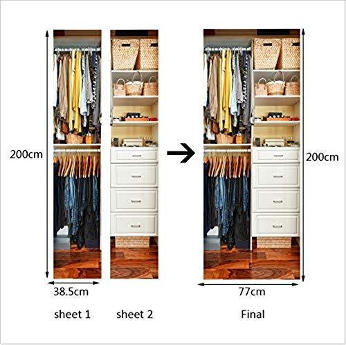 Selbstklebende Papier Dekoration Schlafzimmer Wohnzimmer Tür Aufkleber Tür Aufkleber Kleiderschrank Ebay Studie Tür Aufkleber