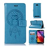 Sangrl Coque pour ASUS ZenFone Max (5.5pouce) ZC550KL, Étui Portefeuille PU Leather Flip Coque...