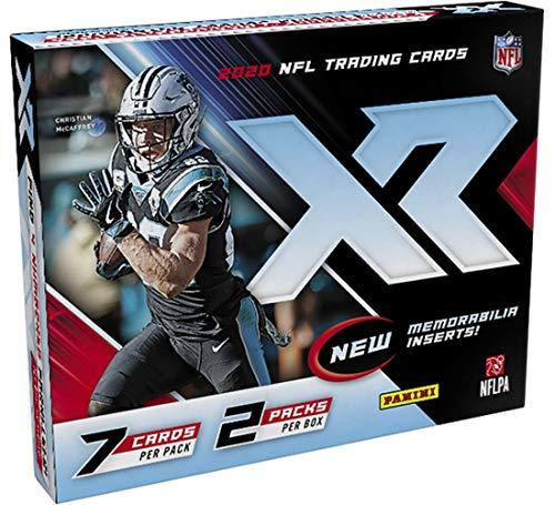 2020 Panini XR NFL Football HOBBY box (14 cards/bx)