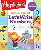 Write-on Wipe-Off: Let's Write Numbers (Highlights Write On Write Off Fun/Learn Activity Books)