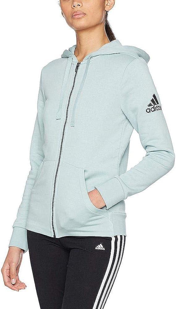 Adidas Veste pour Femme Essentials Solid Pull à Capuche vert (vertac)