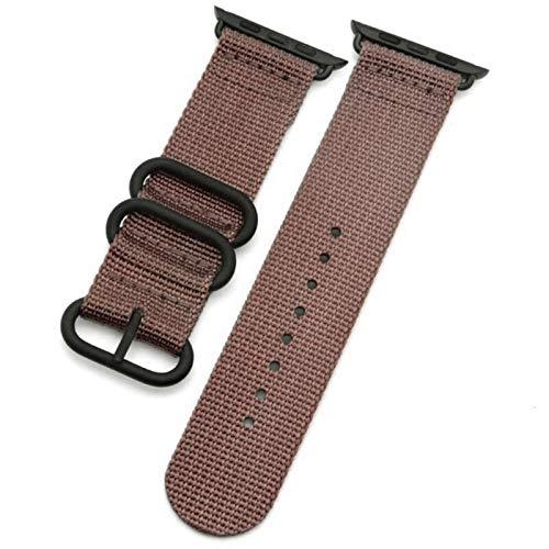 Correa para Apple Watch 5 Band 44mm 40mm IWatch Band 42mm 38mm Pulsera deportiva de nailon Correa de reloj para Apple Watch 4 3 2 1 42/38 Mm