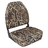 Wise 8WD617PLS-728 Camo High Back Seat, Mossy Oak Shadowgrass Blades
