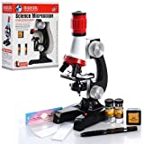 Khilona House Science Microscope, Educational Toy Real Working Microscope for Kids (Multicolor)