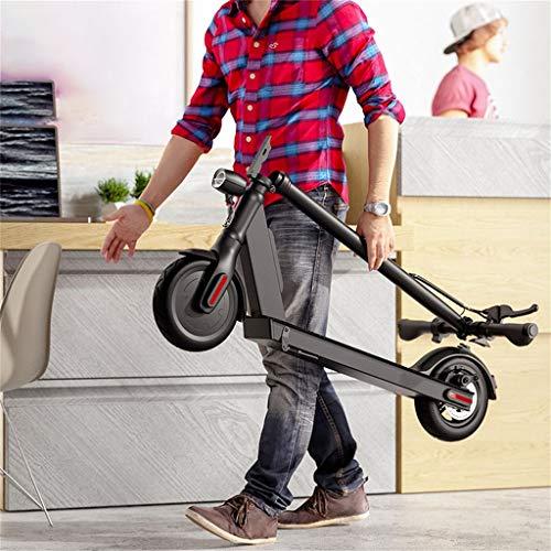 Patinete Electrico Adulto, Patinete Eléctrico Plegable,4AH 250W, Pantalla de Electricidad, 8.5 Pulgadas neumático, Electric Scooter para Adolescentes