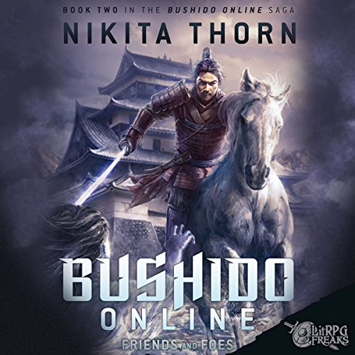 Bushido Online audiobook cover art