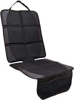 Autositzauflage, JVMAC Premium Oxford Material zum Schutz vor Kindersitzen Isofix geeignet, Auto Kindersitzunterlage wasserabweisend, Autositzschutz, Unterlage, Schoner in universeller Passform