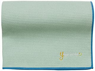 ヨガワークス(Yogaworks) ワッフルヨガラグ シーグリーン YW-A160-C093