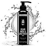 THE REAL MAN All New Beard Wash & Conditioner(200ML). 100% Natural & Organic