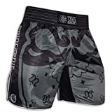 Pride or Die Fight Shorts Ruthless MMA Fight Fitness No Gi Grappling Jiu Jitsu Shorts para hombre (M)