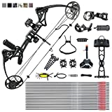 Adult Compound Bow Package,USA Gordon Limbs,Fully Adjustable 19-30