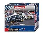 Carrera DIGITAL 132 DTM Speed Memories Autorennbahn Set für Erwachsene & Kinder ab 8 Jahren I 7,3m Rennstrecke und 2 lizenzierte DTM Slotcars für drinnen I bis zu 6 Spieler I Geschenke zu Weihnachten
