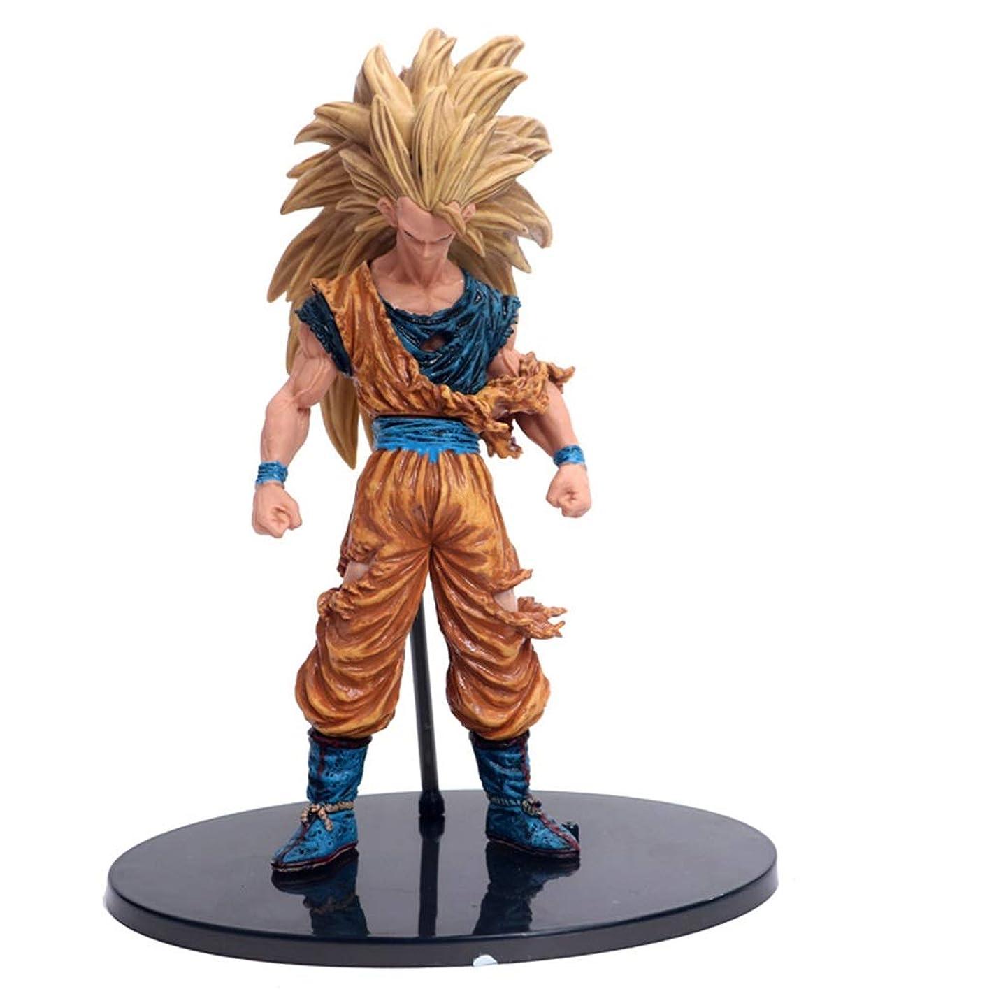 出会いメガロポリスかけがえのないアニメ漫画ゲームキャラクター悟空モデル像高21 cmおもちゃ飾り WSWQWQ
