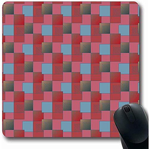 Mouse Pad Multicolor Accent Abstract Color Neu Apk Bias Blend Boom Canvas Stripe Büro Rutschfeste Gaming-Mausunterlage Gummi Längliche Matte Mousepads Laptop 25X30Cm