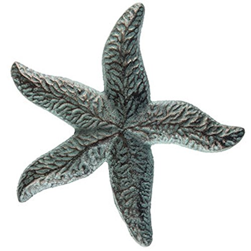 Mission Gallery Heavy 8' Antique Style Bronze Patina Cast Iron Starfish Home Wall Decor