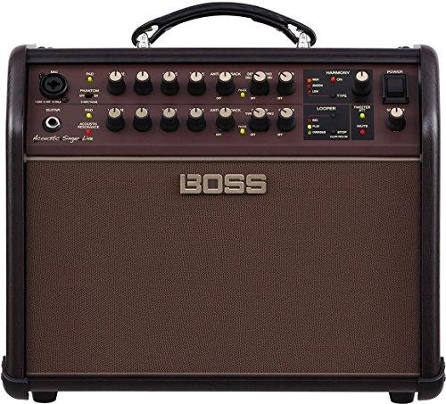 BOSS acs-live acústica cantante Live acústica Amplificador w/Bonus Strukture instrumento Cable sc186W & lulurock Púas (X3) 761294509616
