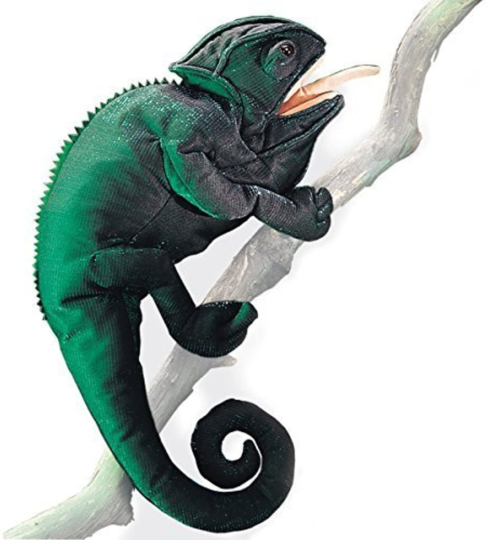 en linea Folkmanis Folkmanis Folkmanis Chameleon Marionnette de Folkmanis  Las ventas en línea ahorran un 70%.