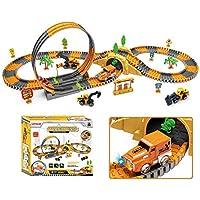 221-Piece Loyalse Construction Race Tracks