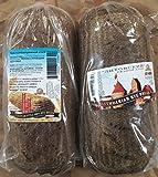 European Style 100% Rye Bread & Lithuanian Rye Bread (1 Loaf Each)