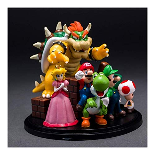 YLSP Exquisite Handmade Toy Model Statue Toy Model Cartoon Characters Gift/Craft / 8CM (Color : -, Size : -) image