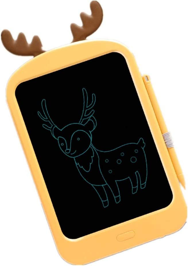 Color : Yellow, Size : 8.8 inches LCD Writing Tablet Childrens LCD Tablet 8.8 Inch Electronic Graffiti Painting Board Small Blackboard Great Gift Writing Board Doodle