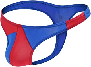 Men's Sexy Thong Underwear Low Rise Bikini T-Back G-String Bikini Briefs