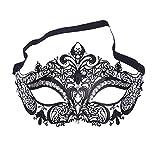 ANGAZURE-IT Maschera Veneziana Donna Metallo Maschera Stile per Masquerade Costume Party,Maschere di Carnevale