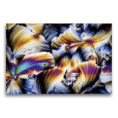 CALVENDO Premium Textil-Leinwand 75 x 50 cm Quer-Format Äpfelsäure mit Gibberellinsäure, Leinwanddruck von Thomas Becker